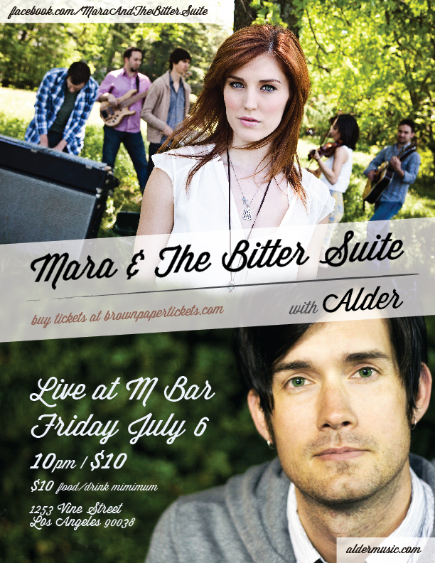 Mara & The Bitter Suite with Alder